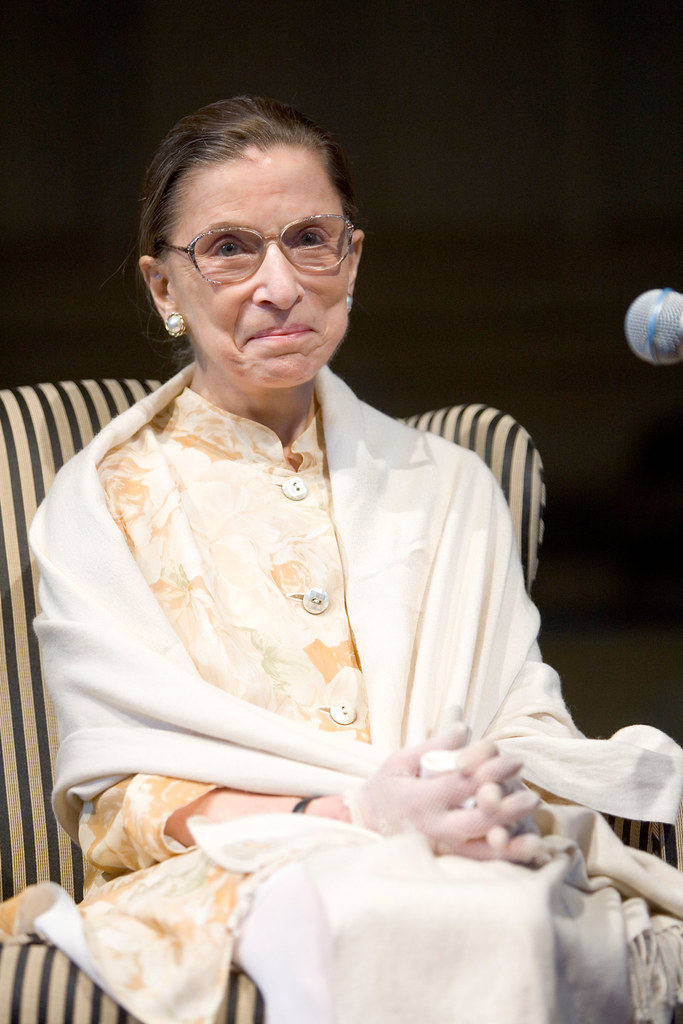 'Women belong in all places where decisions are being made' Ruth Bader Ginsburg 🙏