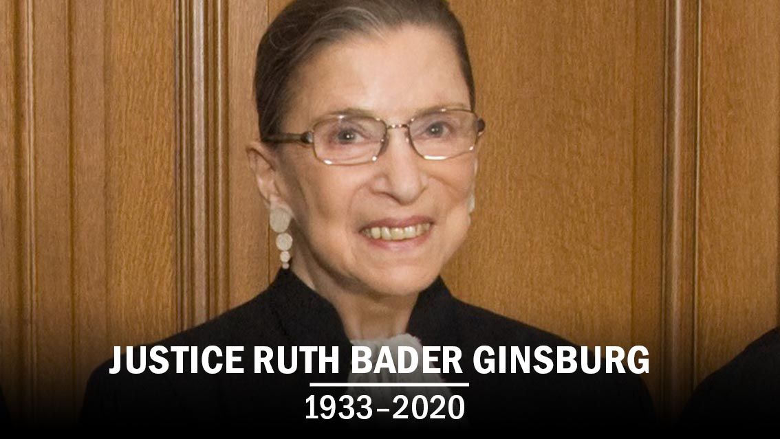 Justice Ruth Bader Ginsburg has passed away at the age of 87.   A long-standing Supreme Court Justice and advocate for gender equality, she was recently seen in the 2018 documentary 'RBG.' Rest in Peace. https://t.co/d1EBCsMA4D