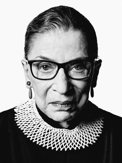 Justice Ruth Bader Ginsburg.  Second woman to sit on the Court. Fighter for justice and equality. Defender of our democracy, our freedoms, and our country.  It is our duty — moral responsibility — to continue her legacy. Rest in Power.