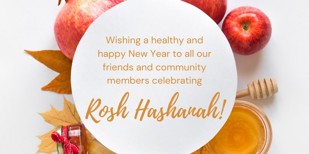 Wishing a very happy and healthy New Year to everyone celebrating Rosh Hashanah! LShanah Tovah! #HappyNewYear #Celebrate