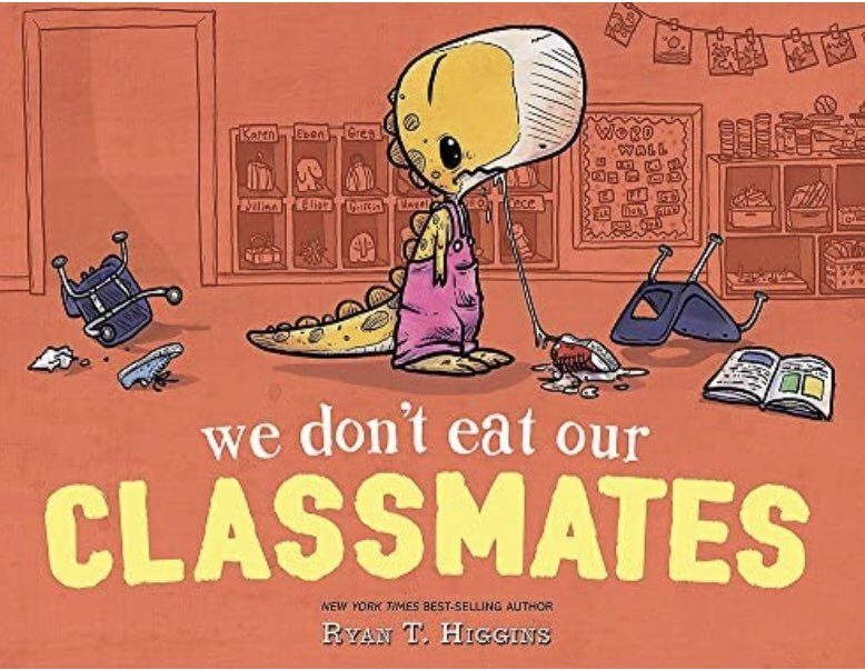 """Treat others the way you want to be treated! Spread kindness. We Read """"We Don't Eat Our Classmates"""" and shared how we can be kind over zoom https://t.co/S4Le7OeSyQ Thanks @vbkimani for joining in the convo. https://t.co/23cLCaY2nq"""