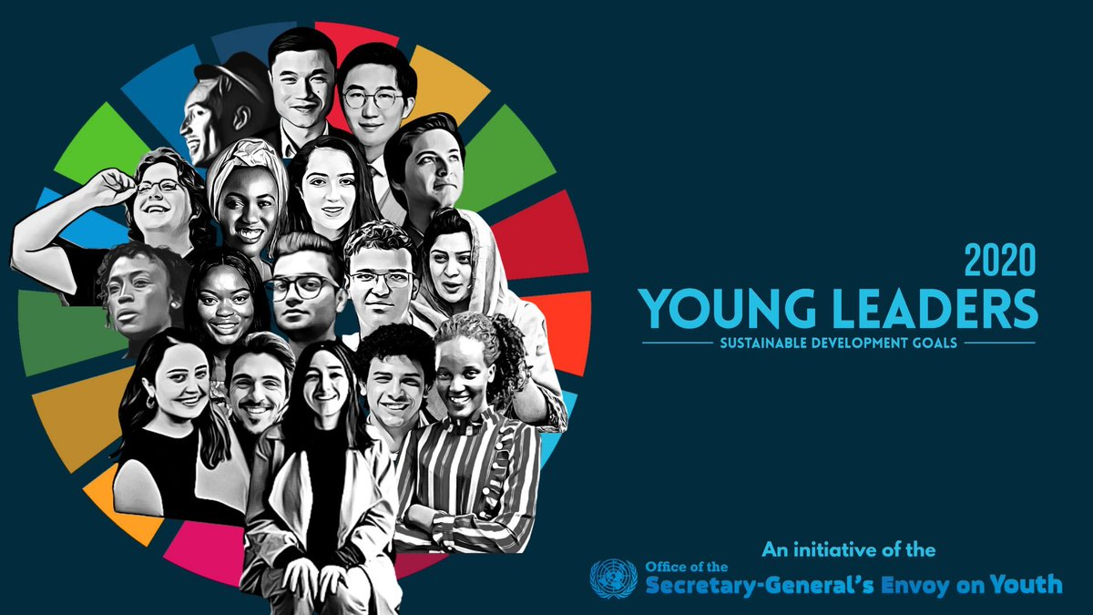 We need the drive, ingenuity & full involvement of young people to achieve the #GlobalGoals.  A warm welcome to the next group of Young Leaders who will help lead the way. We count on you to continue advocating and pushing for a better world for all.  https://t.co/7AEobVVEH0 https://t.co/vfI7RofwBG