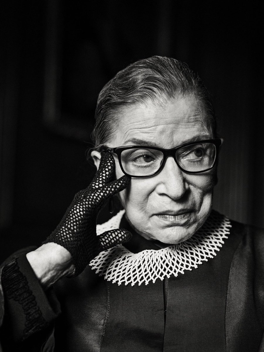 A true giant. Thank you for your service RBG 💔