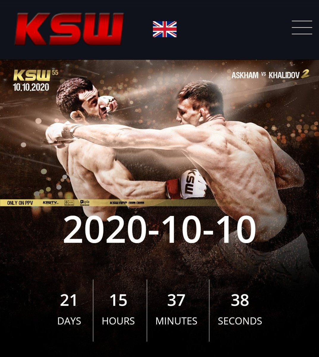 3 weeks and back to my homeland for @KSW_MMA https://t.co/0zuQ4MR69Q