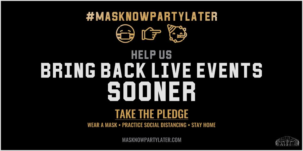 Do your part and wear a mask. #MaskNowPartyLater https://t.co/a0X1SL1iFM