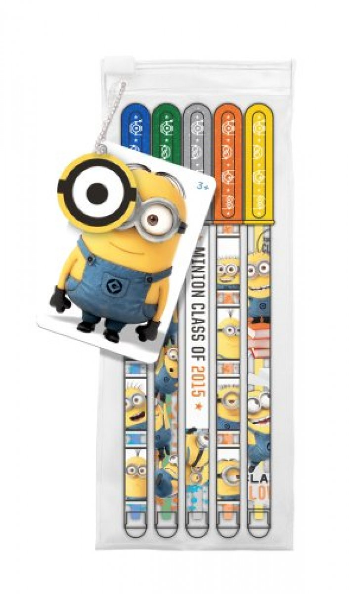 As long as you have a few seconds to spare, 🛍 check the 60% Sale on Illumination Entertainment Official Despicable Me Minions Glitter Gel Pens - Pack Of 5! #giftshop #giftbox #giftideas #giftstore #gadgetshow #actioncityonline #onlinestore #onlinestores https://t.co/0t54rbwEFY
