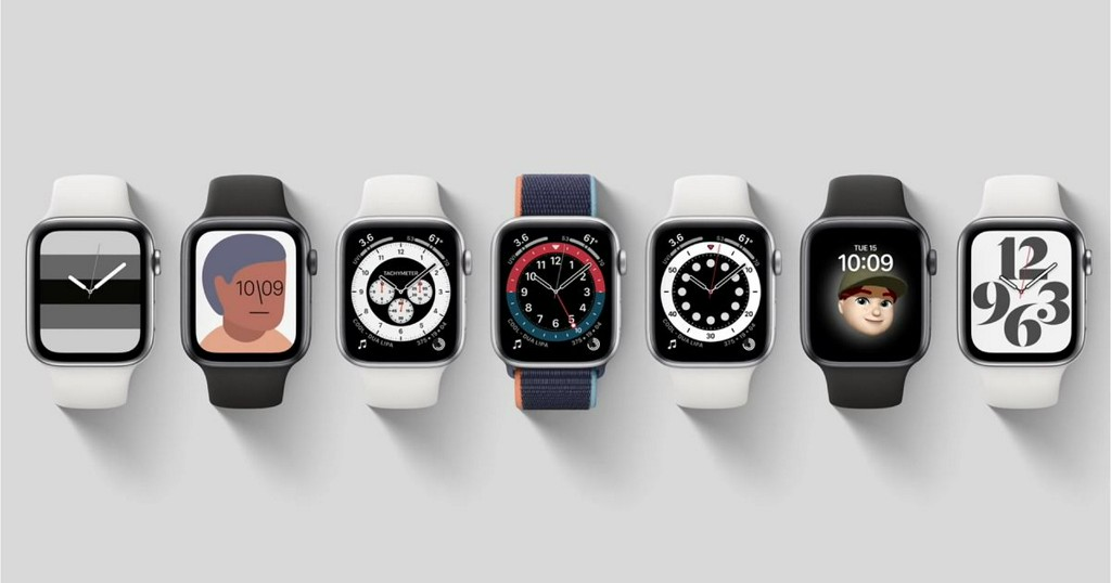 See all the new Apple Watch faces in one video