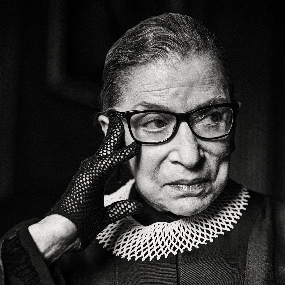"""""""Fight for things you care about, but do it in a way that will lead others to join you."""" Mourning the loss of a true Brooklyn icon. Thank you, Ruth Bader Ginsburg.❤️ (📷: Sebastian Kim) https://t.co/n04nlCN0IW"""