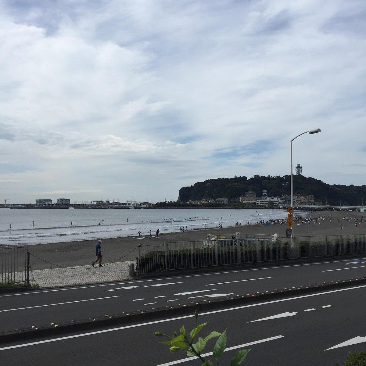 4連休が始まりました😆 マリンスポーツをしに是非 江ノ島にどうぞ〜!⛵️🏄♂️🤽♀️☀️ #江ノ島 #湘南 #海沿い #seaside #beach #sea #skylover #skyphotography https://t.co/trvC6mpwvg
