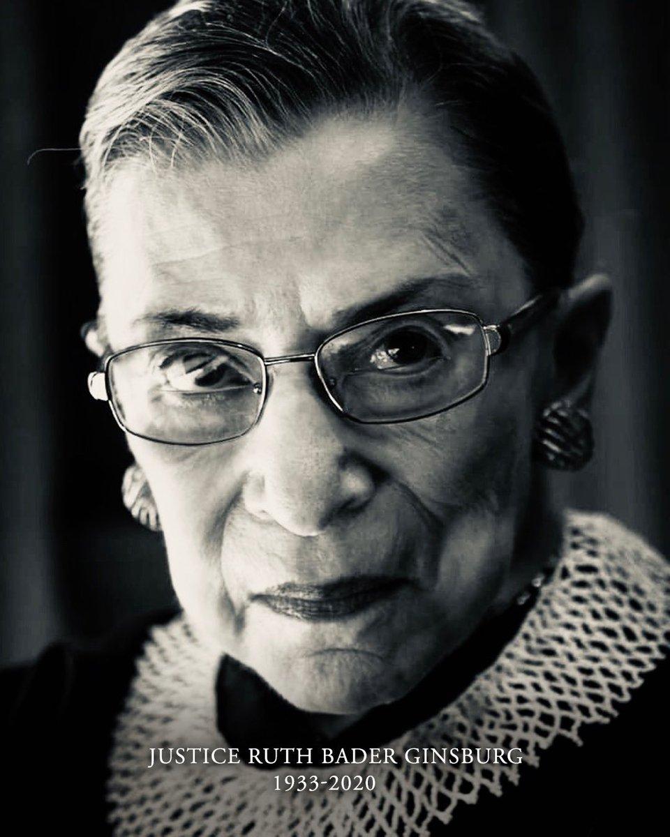RIP, Justice Ruth Bader Ginsburg. https://t.co/wqZppWzBiQ