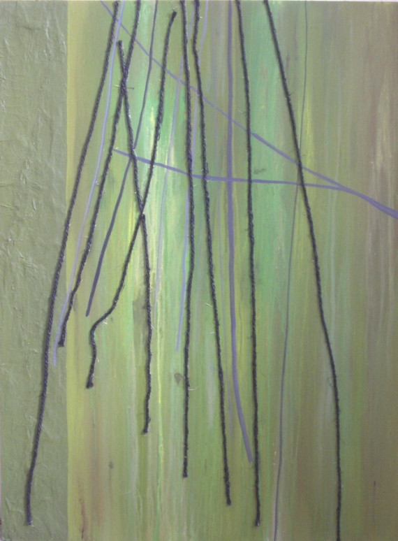 Abstract Trees Painting  Green Mixed Media Original String https://t.co/IJziwShMNq - 50% OFF! #abstract #trees #abstractart #painting https://t.co/H13Ycbz2Fa