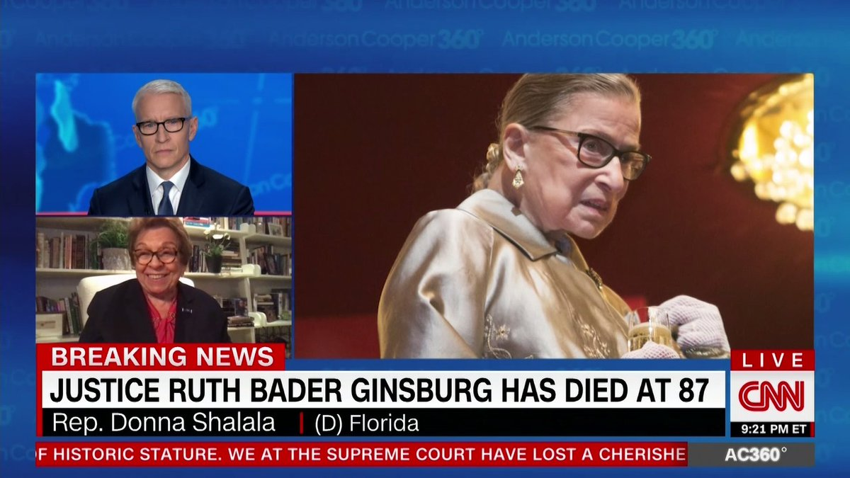 Its in bad taste... he should have waited at least 24 hours. Democratic Rep. Donna Shahala slams Senate Majority Leader Mitch McConnell for quickly releasing a statement saying Pres. Trumps nominee to replace Ruth Bader Ginsburg will receive a vote on the Senate floor.