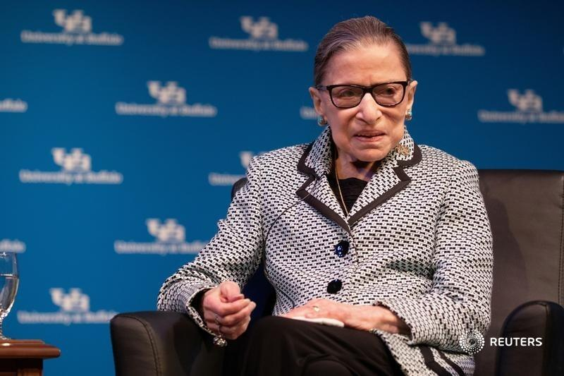 Justice Ruth Bader Ginsburg's death hands Donald Trump his third U.S. Supreme Court pick. The anti-regulation bias could last a generation. That may be good for companies – less so their employees and customers, writes @GinaChon. https://t.co/yOlzItJFY5 https://t.co/eCPSFxBxHe