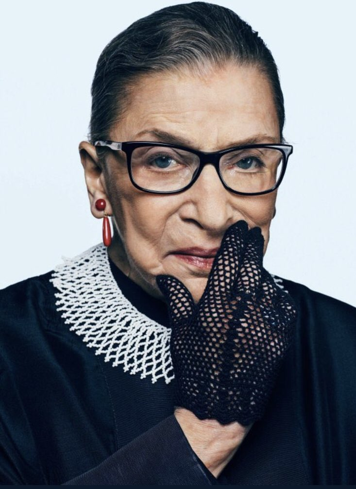 Thank you Ruth... Thank you for making a difference... #RIPRBG https://t.co/91Nw6BVZA8