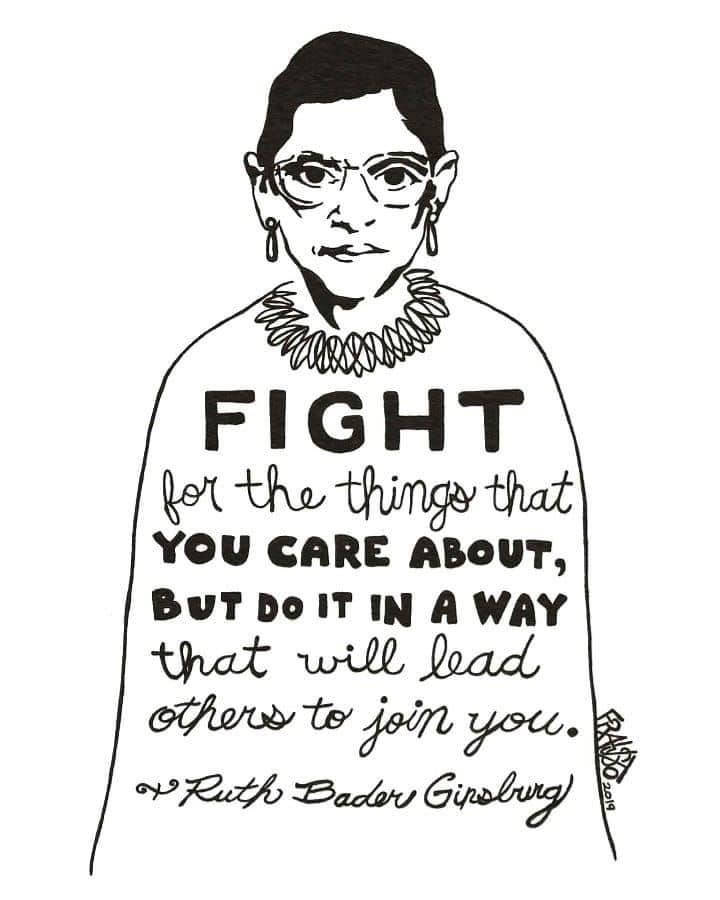 How about we all just carry on her legacy? Could we just do that? Never give up. <a target='_blank' href='http://search.twitter.com/search?q=RestInPowerRBG'><a target='_blank' href='https://twitter.com/hashtag/RestInPowerRBG?src=hash'>#RestInPowerRBG</a></a> <a target='_blank' href='https://t.co/vpRecqJaYB'>https://t.co/vpRecqJaYB</a>