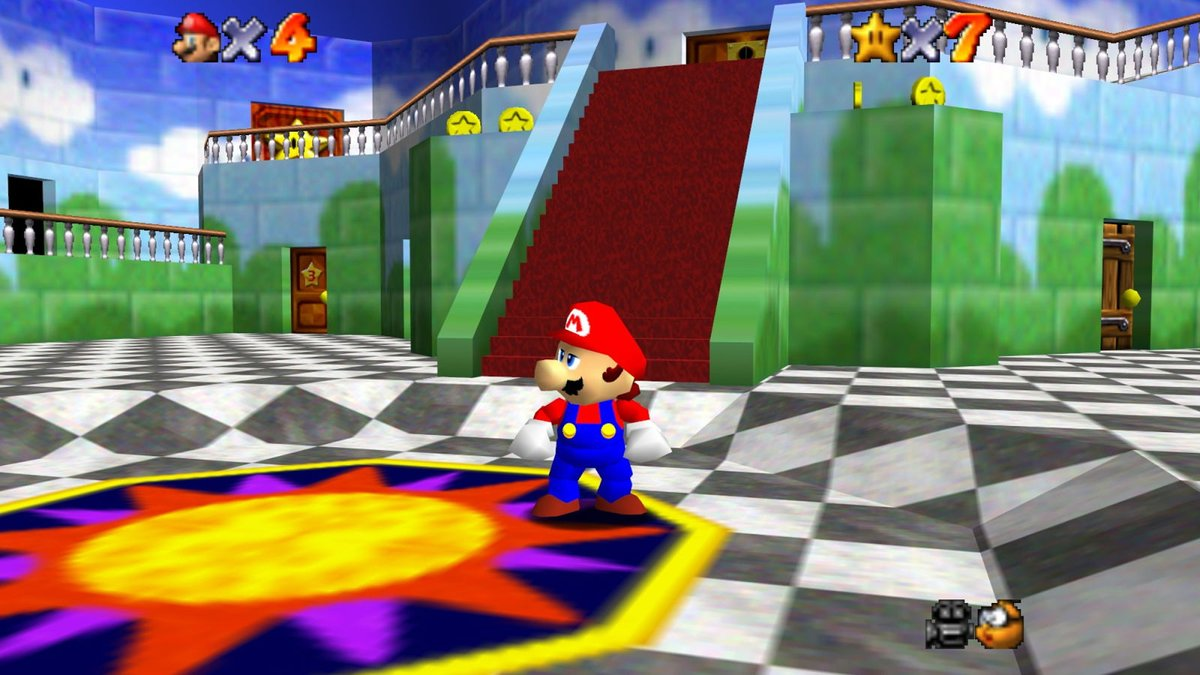 @TheOnion's photo on Super Mario 64