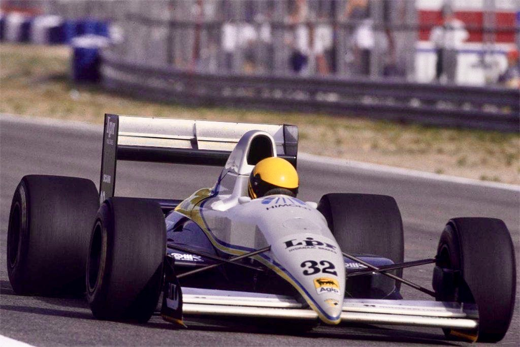 Italian Enrico Bertaggia, who turns 56 today, made his sixth and final attempt to qualify for a grand prix with Coloni in Adelaide in 1989. #F1 #Adelaide https://t.co/l774ot3hEJ