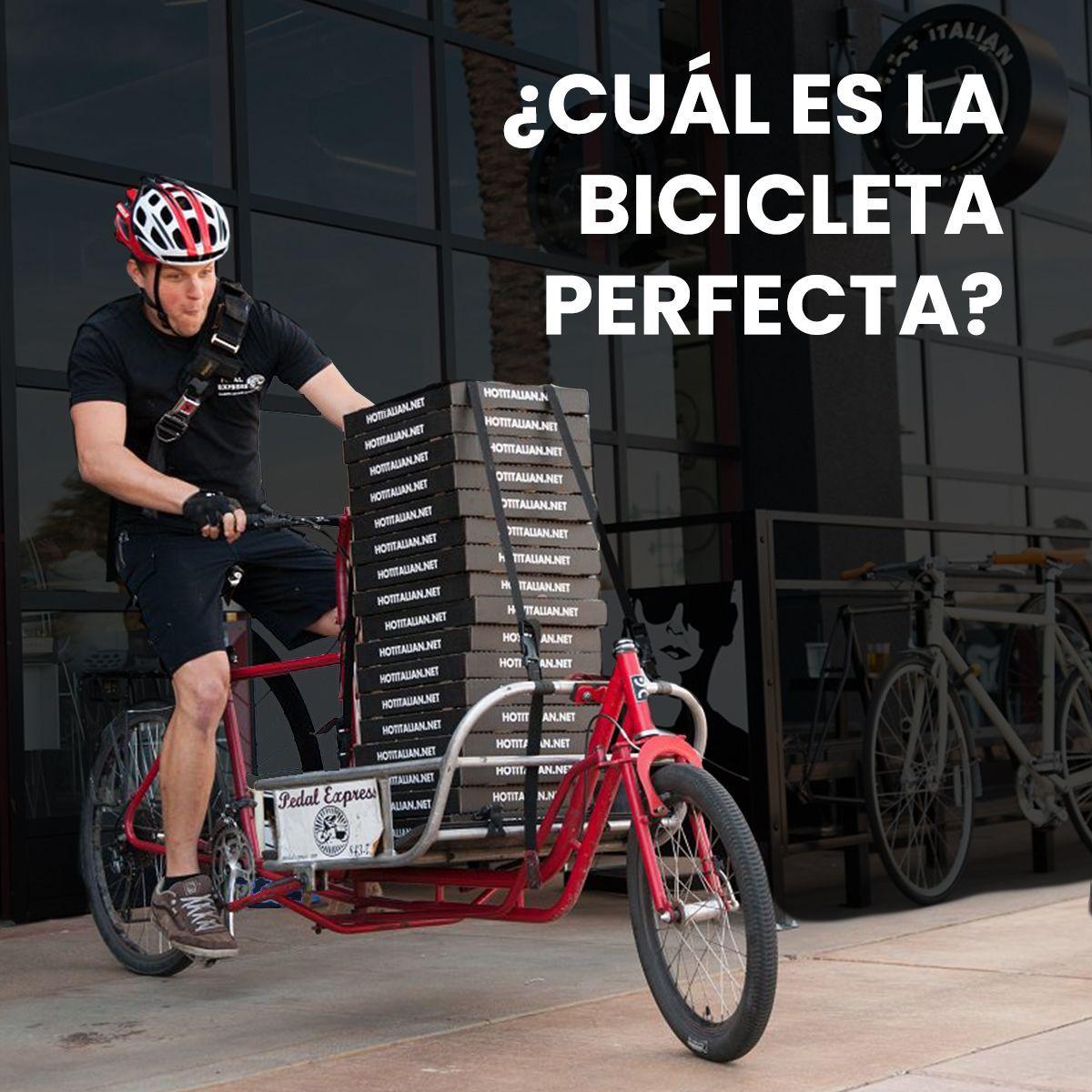 ¿Cuál es la #bicicleta perfecta para un #repartidor? https://t.co/zsMctyXpVo https://t.co/st6Qo2bbkO