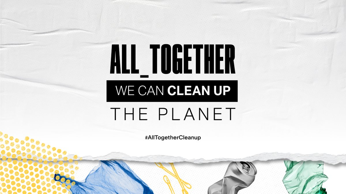 Happy World Cleanup Day! This year, we are excited to clean the environment with our technology and innovation partner @litterati – an app that geo-tags photos of litter to track participation for our ALL_TOGETHER GLOBAL CLEANUP.   Join us one litter at a time today! https://t.co/yxX0HF1gAY