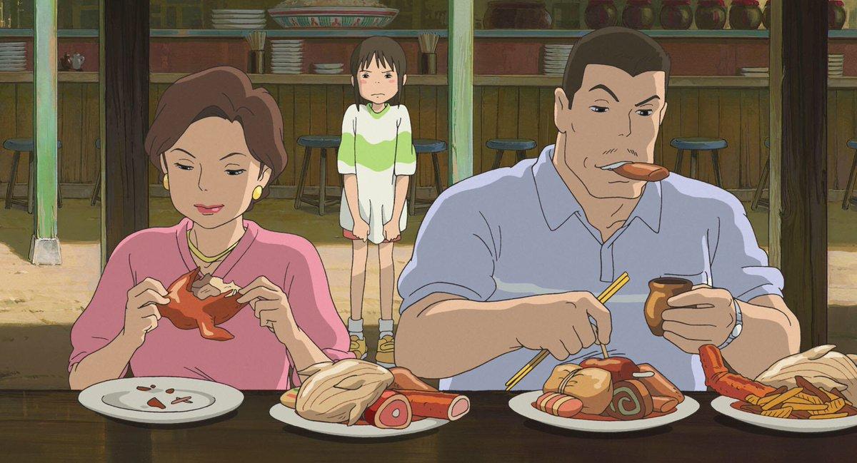千と千尋の神隠しで千尋のお父さんが食べているのがシーラカンスの胃袋だと話題ですが、実際に日本に輸入が許されたシーラカンスの6匹のうち1匹はドラゴンボールの鳥山明先生が週刊少年ジャンプの企画で食べてしまいました。ということで千尋のお父さんは鳥山明先生で確定です。