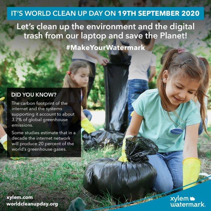 Aujourd'hui, c'est le  #WorldCleanupDay !  Une bonne occasion d'enfiler gants (et masques) pour nettoyer les déchets près de chez nous, ou se lancer d...
