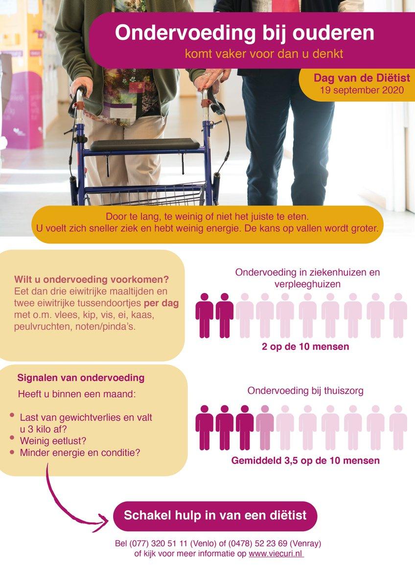 Ondervoeding bij ouderen komt vaker voor dan je denkt. Ondervoeding ontstaat bijvoorbeeld door langdurig te weinig eten of niet de juiste voeding. In deze infographic zie je enkele signalen van ondervoeding. Ook geven wij je graag enkele tips om ondervoeding te voorkomen. https://t.co/jkQZW5Q5MO