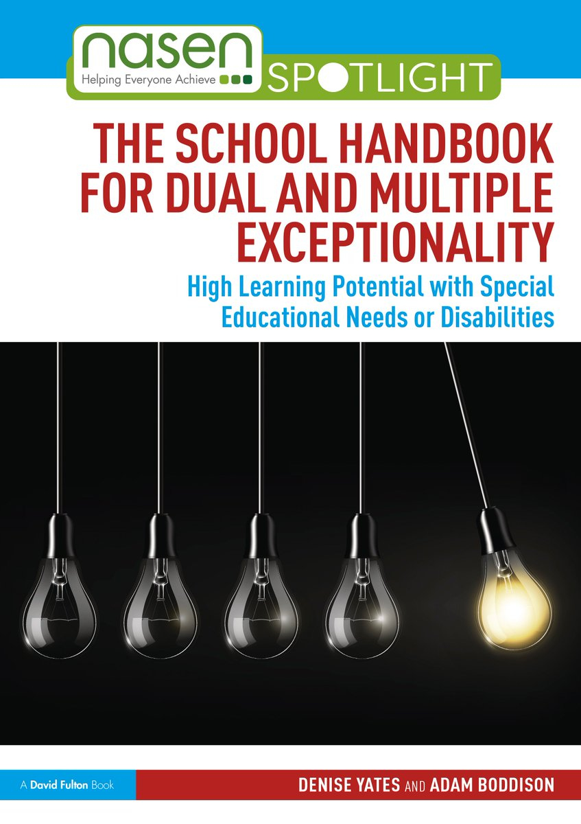 Have you seen the DME Handbook for teachers on Dual and Multiple Exceptionality? https://t.co/iQTh6ZAYA1. https://t.co/cZWJbPHnnO