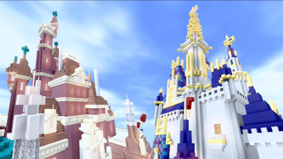 城 マイクラ シンデレラ