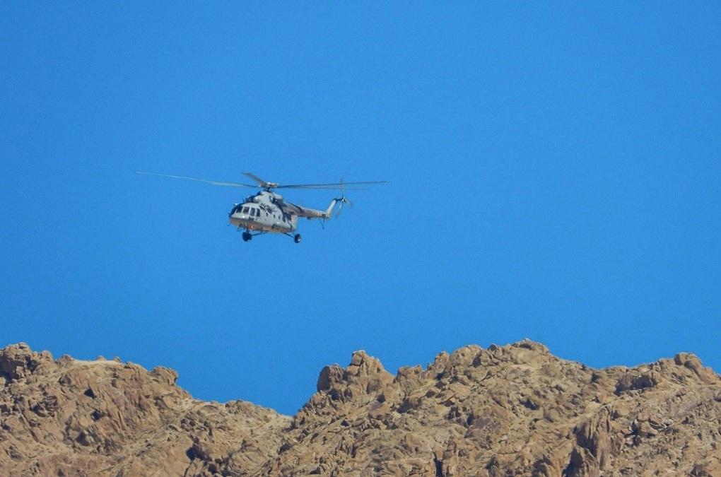 Mi-17 in ladkah