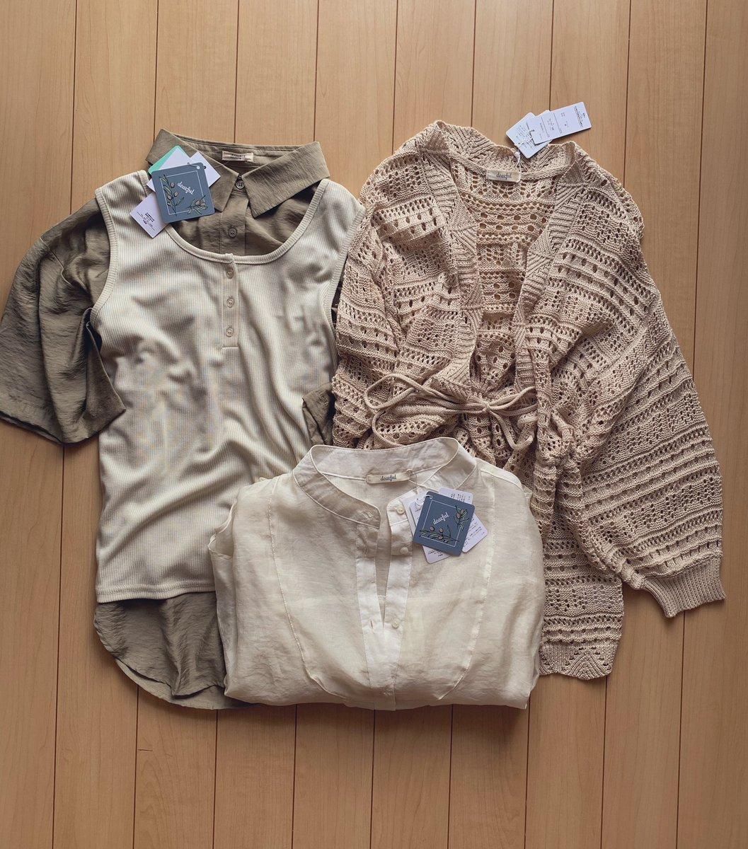 たまたま寄ったらまさかのあやさんのALL300円𓂃༞♡可愛すぎるしこれから着れるってのがありがたすぎる( ⸝⸝⸝⌄⸝⸝⸝)◦#しまむら#しまパト#しまむら購入品#プチプラのあや