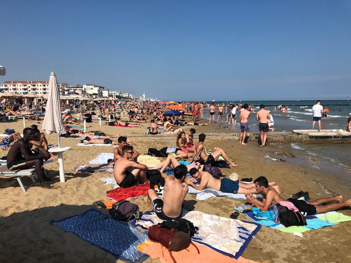 #veneto Spiagge mai così calde negli ultimi trent...