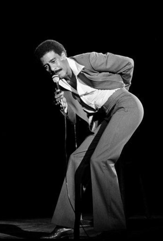 Richard Pryor at the Hollywood Bowl on this date September 19 in 1977. Photo by Lennox McLendon. #OTD https://t.co/HHeDMfeLOK