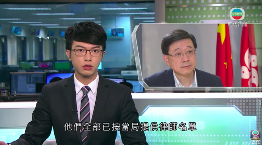 "HK's security minister John Lee said in an exclusive intv with TVB the 12 HKers detained in Shenzhen had ""each chosen 2 lawyers from a list provided by the local authorities"".   Lee said HK gov has no right to visit the 12 and urged HK ppl to respect mainland's laws and rules. https://t.co/b7tm4eua3j"