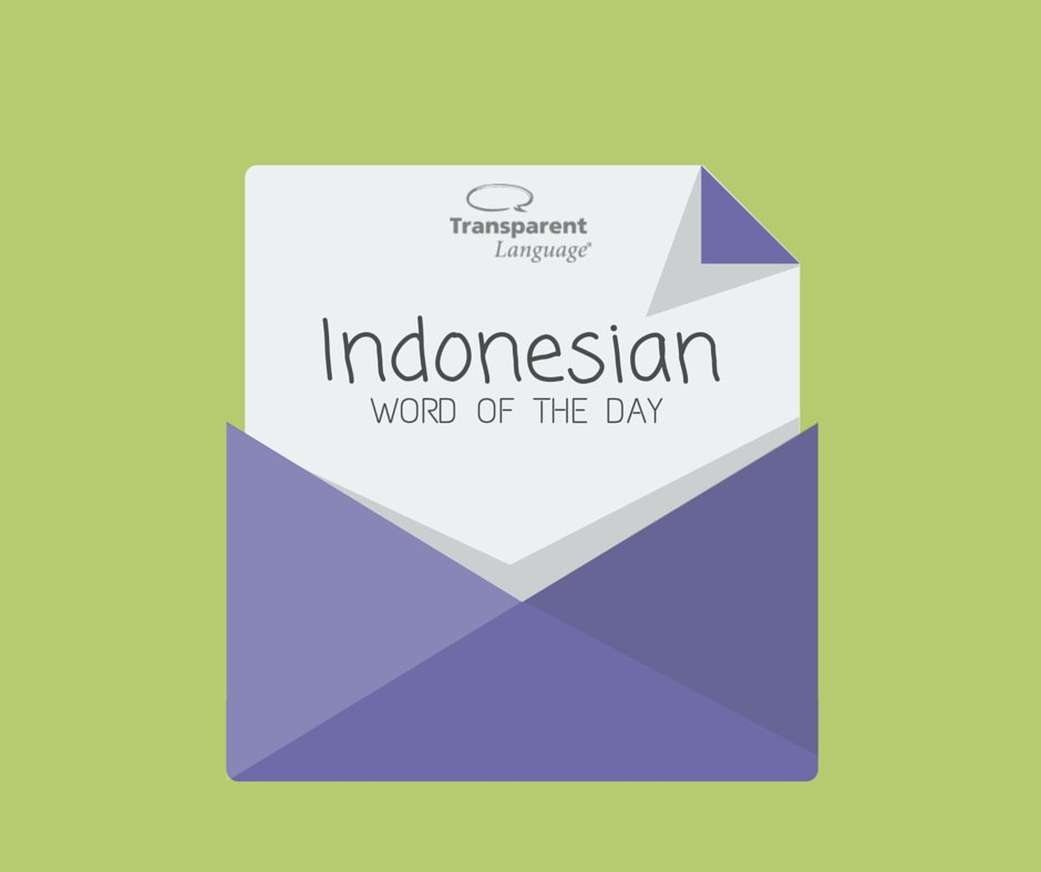 #Indonesian Word of the Day - mencintai: to love Click for audio! https://t.co/hNM6NDFbwg https://t.co/9QqjD5PBKN