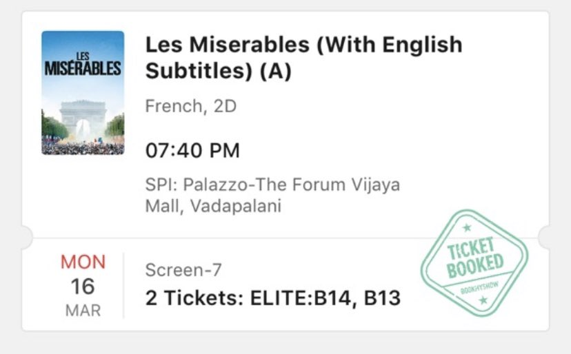 6 months gone., ( March 16th) , The last movie in theatre 😭 @Mega1Mind https://t.co/Ic30MALGYg