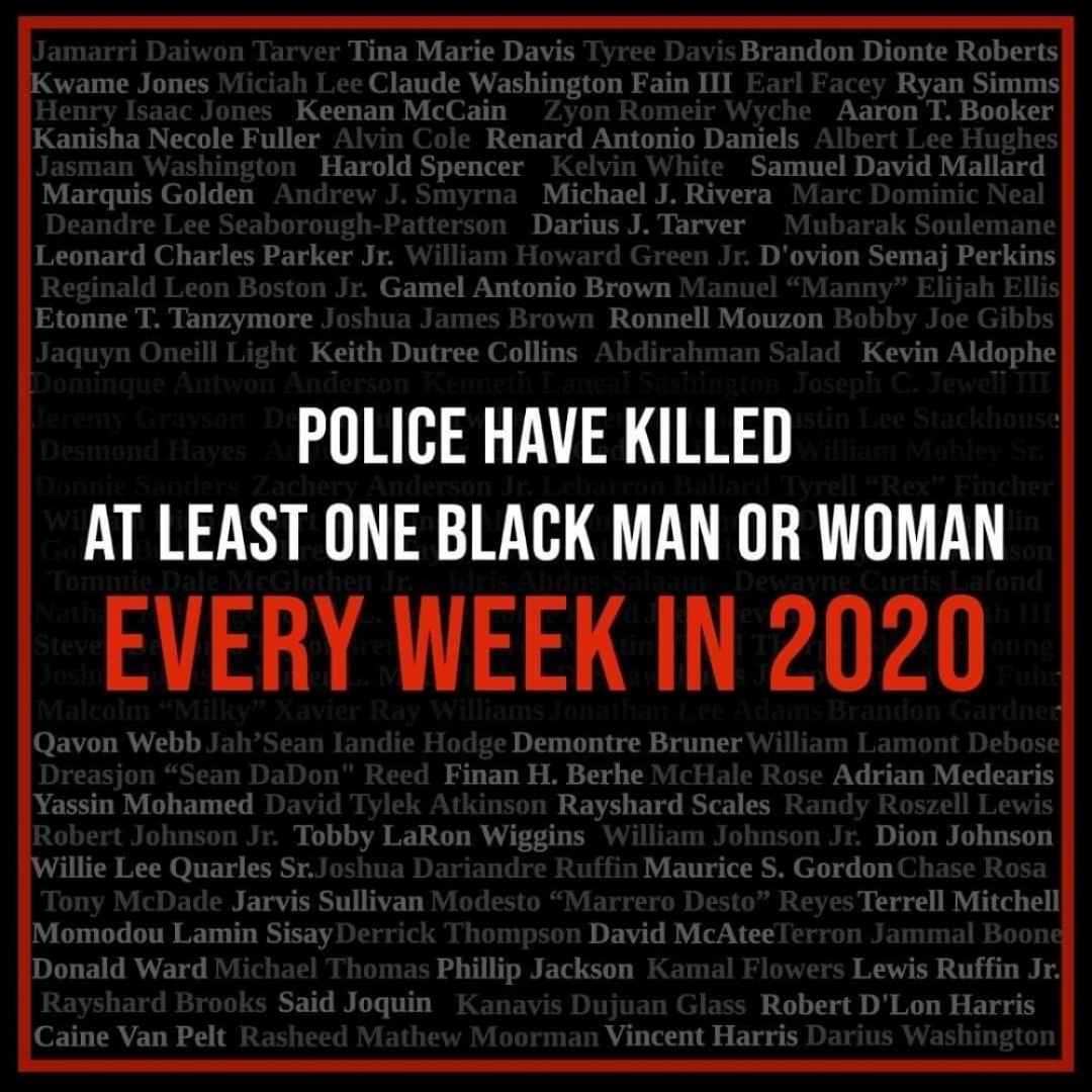 #ACAB #DefundThePolice #PoliceBrutality #BlackLivesMatter #BLM #SayTheirNames #whywemarch #NoJusticeNoPeace #antifa #policethepolice #alwaysfilmthepolice #HumanRightsViolations #SystemicRacism #PoliceState #bluelivesdontexist #bluewallofsilence #ThinBlueLine https://t.co/iNKHJ0E2gM