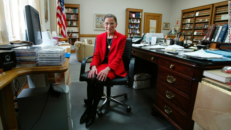 Here's a look back at the life and legacy of Ruth Bader Ginsburg, the second woman to serve on the US Supreme Court, in photos.  Ginsburg died Friday due to complications from pancreatic cancer. She was 87. https://t.co/gdFUnVShHa https://t.co/DBkSb06s4H