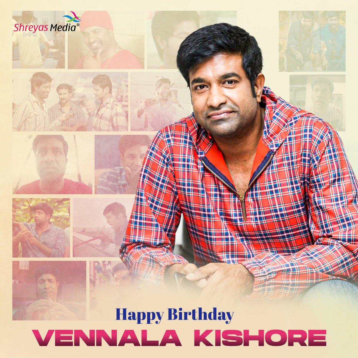Happy Birthday Vennela Kishore Gaaru🎉🎉 #ShreyasMedia #Shreyasgroup https://t.co/4FSNKx0b0F