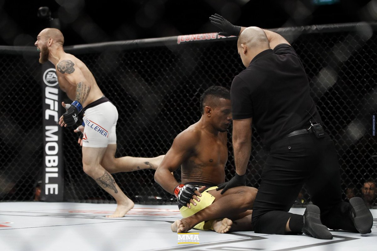 Best part about working on Timeline is revisiting all the other images from those events like these from #UFC212 that had great moments all over the card like Kelleher subbing Alcantara in Rio. https://t.co/gN0TKUZn0N