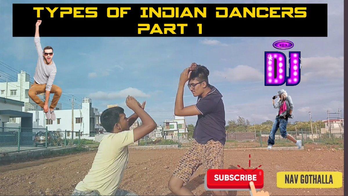 Watch this Short Video guys  Title:TYPES OF INDIAN DANCERS Link:https://t.co/bXbuV3IV9W #Yash #YashBoss #kgfchafter2 #Roberrt #Phantom @TheNameIsYash @YashTrends @akdtss @KRG_Connects @FcRakshitShetty @DBossFc171 @rakshitshettyfc @LikhithR22 @KfiTalks https://t.co/AHRlXp3mbX