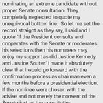 Image for the Tweet beginning: Joe Biden in 2016 on