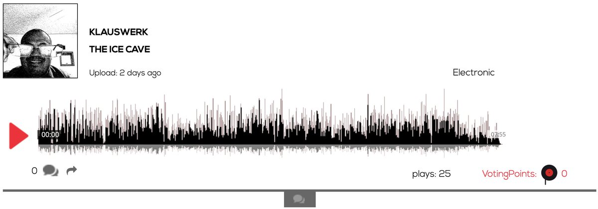 Hear KlausWerk - The Ice Cave #electronicmusic #Mexico https://t.co/rgDW5QuaC2 #Berlin #music #artists #djs #bands #events #voting #indiemusic #singersongwriter #Entrepreneurship #community #news #vc #startup https://t.co/uRyXD9vXsF