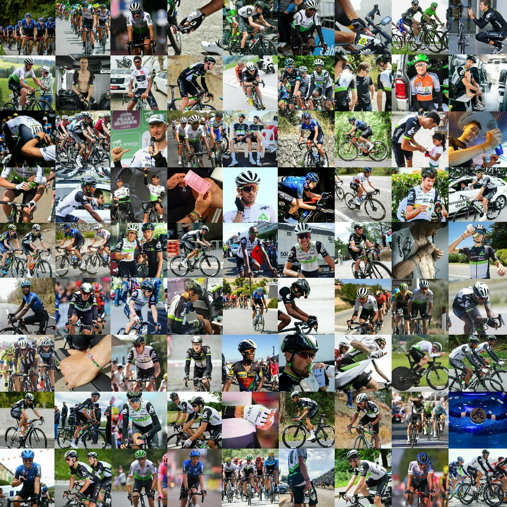 10 years of changing lives with @NTTProCycling   For 10 years you have embraced us...  👀 Can you spot the @Qhubeka bracelet in each picture?   #BicyclesChangeLives 🖐🏽 https://t.co/3pMo17w7rP