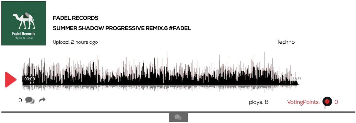 Hear Fadel Records - Summer Shadow Progressive Remix.6  #techno #Hurghada https://t.co/igpU0ANKHi #Berlin #music #artists #djs #bands #events #voting #indiemusic #singersongwriter #Entrepreneurship #community #news #vc #startup https://t.co/I0FbvzODrX