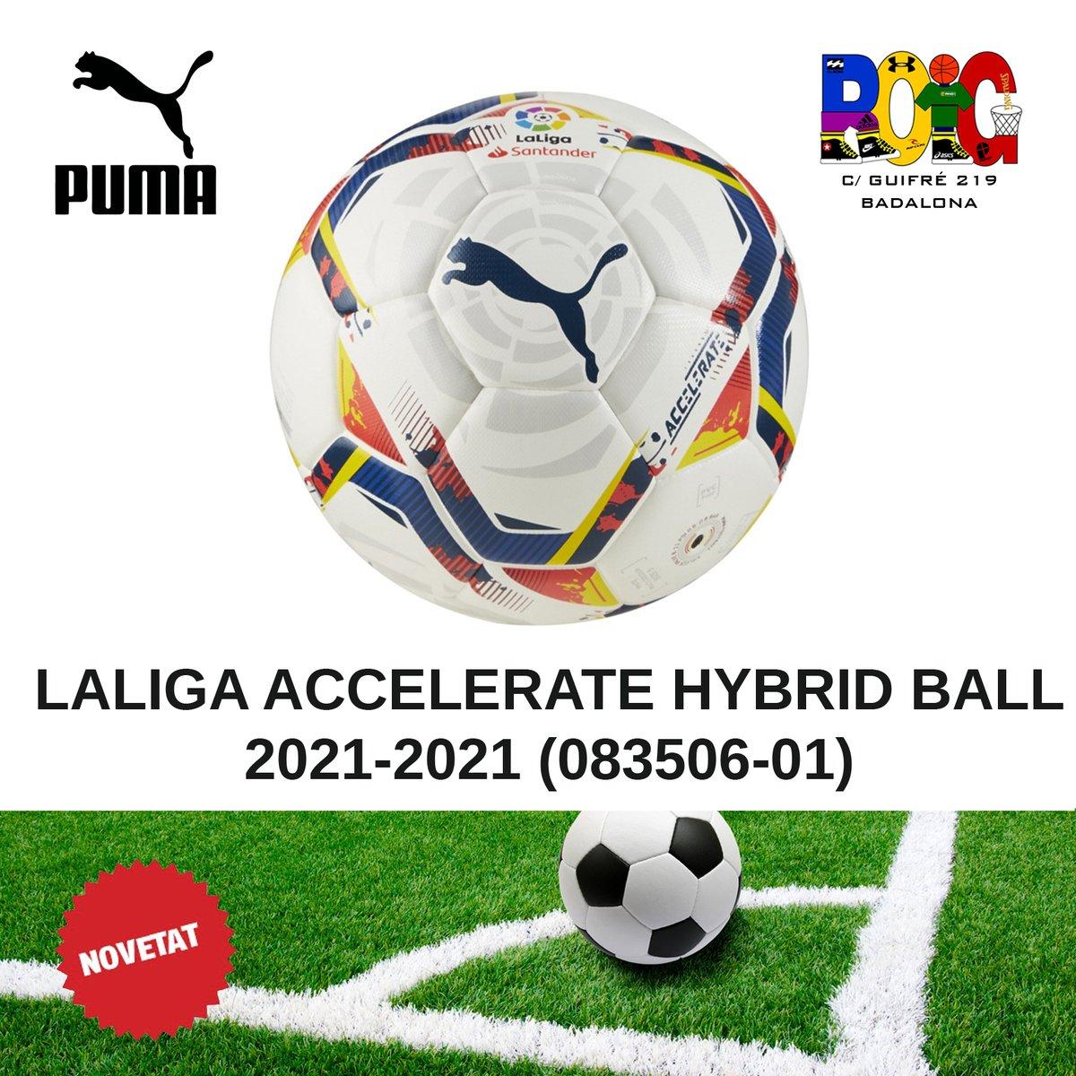 📢 NOVETATS pilotes de futbol ⚽: la Puma LALIGA ADRENALINA HYBRID BALL 2021-2021 (083511-01) Disponibles a la botiga o a la web 💻 en https://t.co/3f0CD9fvvP #puma #jordiroig #badalona #futbol #soccer https://t.co/DaE7A1buUN