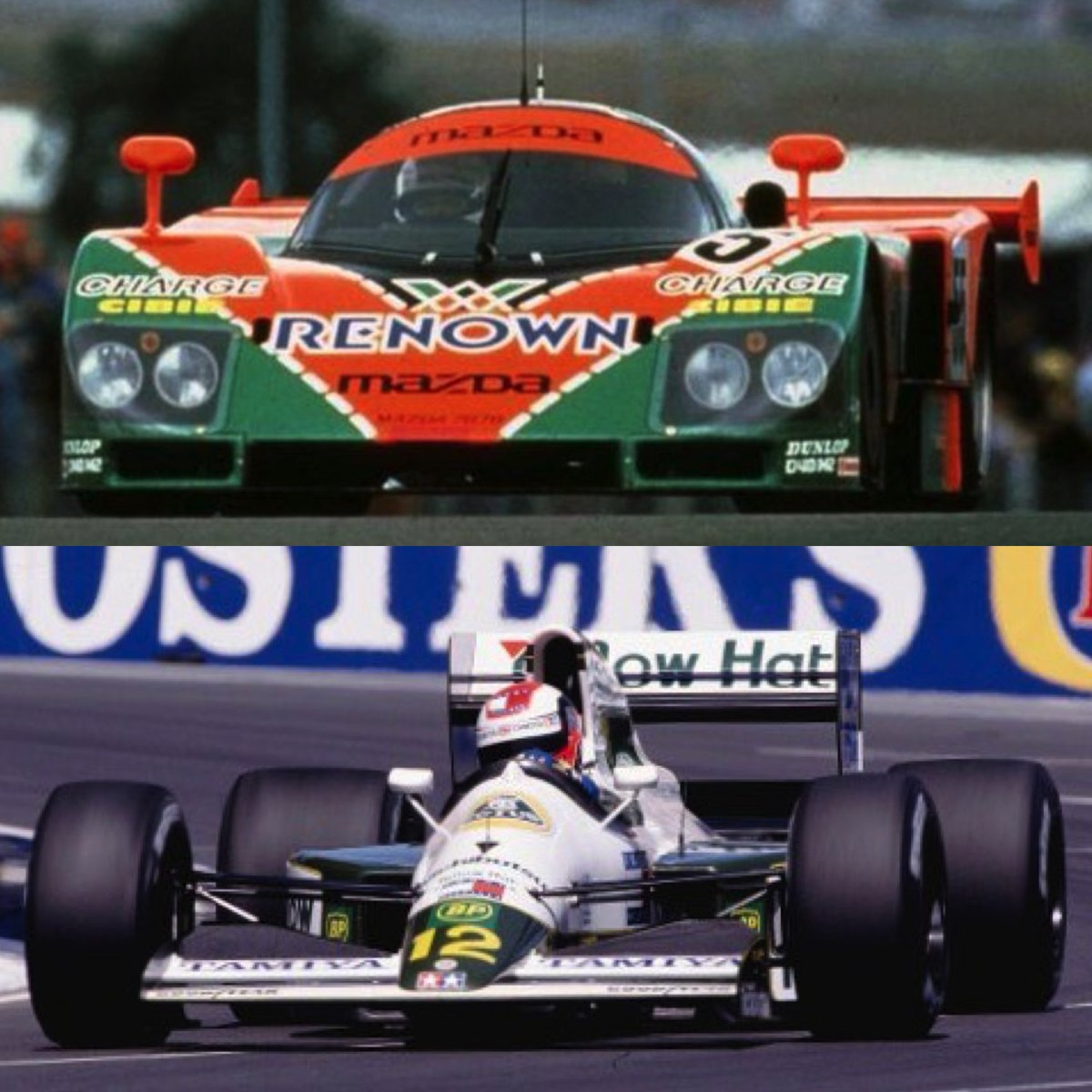 Johnny Herbert was the only driver to win the 24 Hours of Le Mans and race in the Adelaide Grand Prix in the same year, driving the Mazda 787B in the former and for Team Lotus in the latter in 1991. #F1 #Adelaide #LeMans24 https://t.co/CZCxVX7PzL