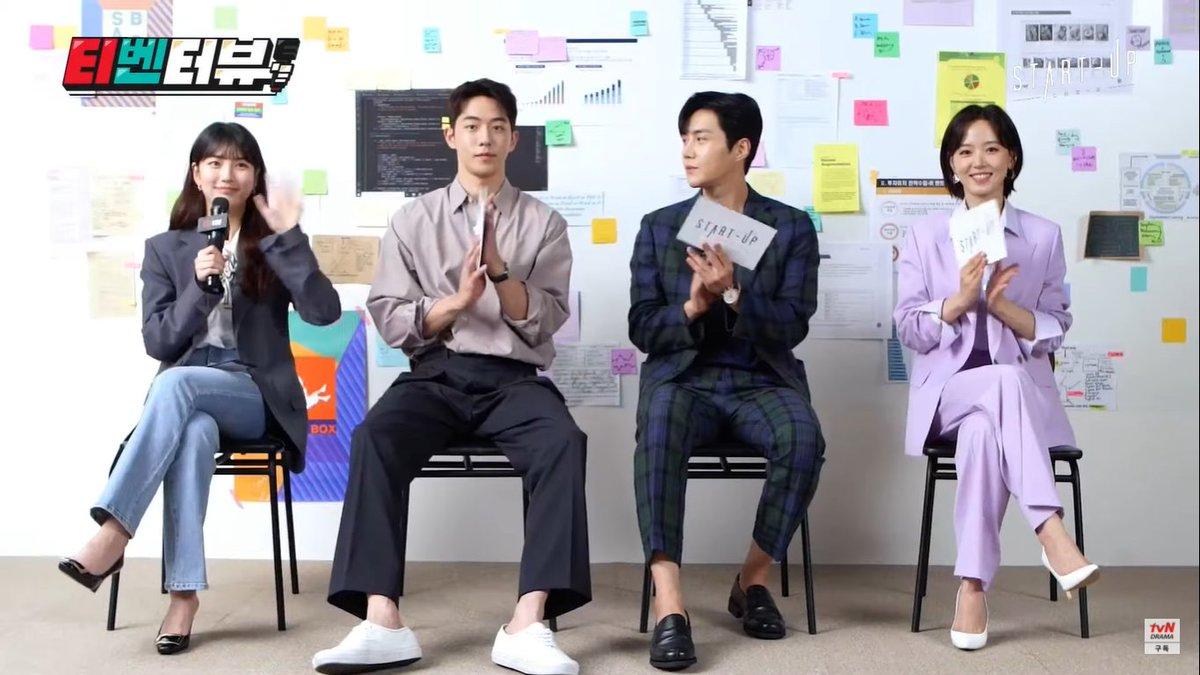i already love them 🥺❤️  #StartUp #스타트업 #BaeSuzy  #NamJooHyuk #KimSeonHo #KangHanna https://t.co/tZAs0GobLq