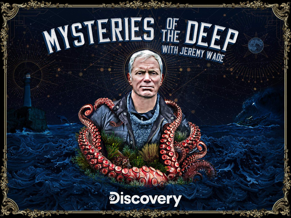 #JeremyWade has another new show? How did I not see this yet? #MysteriesOfTheDeep #AnimalPlanet #DiscoveryChannel #oceans #LochNessMonster #EdmundFitzgerald #BermudaTriangle #USOs #Kraken #GiantSquid #NoahsArk #GlobalFlood #DevilsSea #FranklinExpedition https://t.co/NYbHZ1WHr9