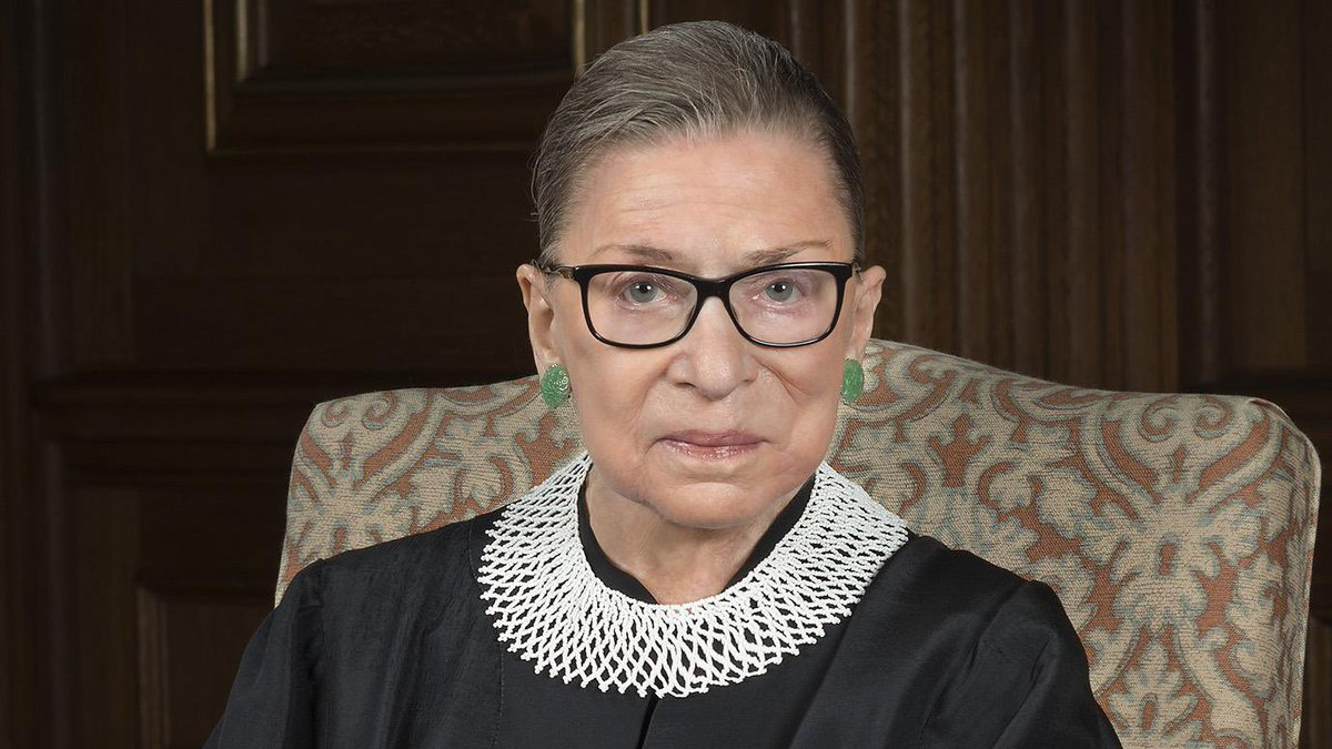 """I don't say women's rights—I say the constitutional principle of the equal citizenship stature of men and women.""  May her memory be a blessing. #RuthBaderGinsburg https://t.co/Ykln34hfY9"