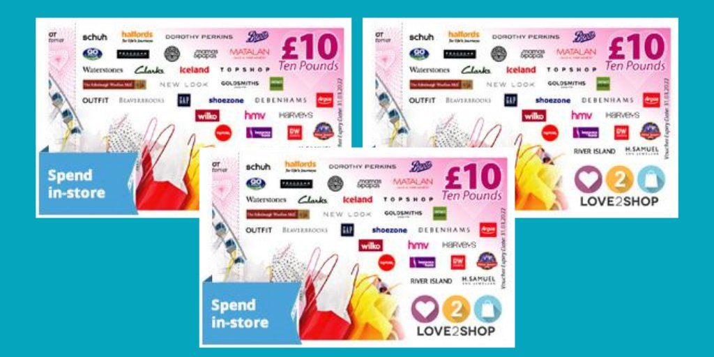 HERE'S ANOTHER CHANCE FOR YOU TO WIN £30 in Love2shop vouchers to spend in over 20,000 stores, restaurants and attractions! 🎉  To enter this #Competition :- 🎁Follow our page @Clockwise_CU 🎁Retweet this post 🎁Tag a friend  Winner announced 15th Oct 2020🤞     #Win #SaturdayFun https://t.co/LzwxrX4L0J